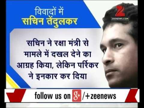 DNA: Sachin Tendulkar sought Manohar Parrikar's help to rescue friend's disputed property