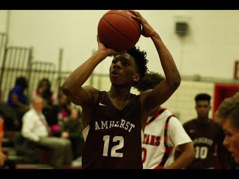 Amherst basketball beats East Longmeadow in OT - 12/20/17