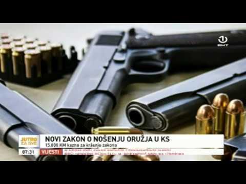 Posjedovanje oružja u Kantonu Sarajevo - prilog   BHRT