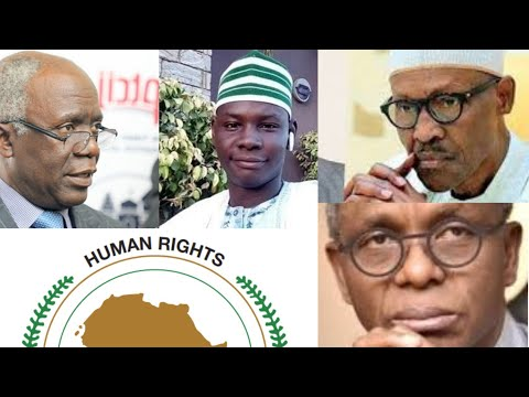 FALANA ĐŔ@GS FG, KANO TO AFRICAN COMMISSION OVER THE CASE OF KANO SINGER, THEN THIS HAPPENS