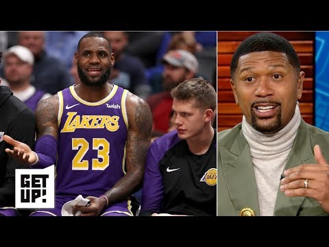 LeBron's absence from Lakers' huddle was 'a disrespect to the coaching staff' - Jalen Rose | Get Up!