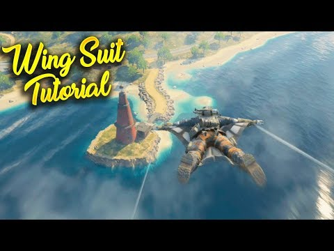 How To Wing Suit Faster and Farther in Blackout! (Wing Suit Tutorial)