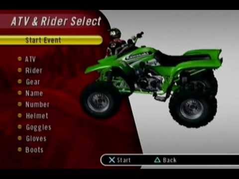 ATV Offroad Fury 2 Menu Theme extended  version