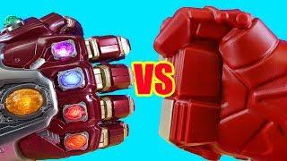 Iron Man Family Vs Hulkbuster Family ! Mega Battle ! Superhero Toys