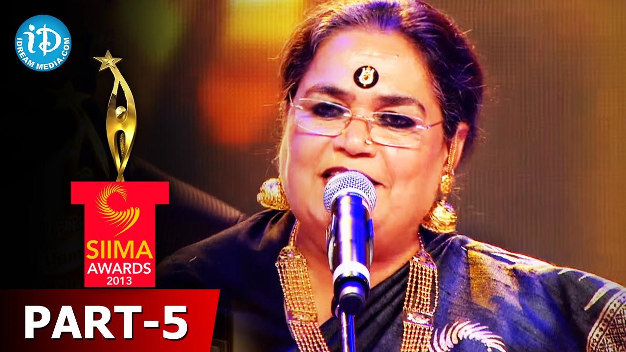 Queen of pop Usha Uthup Performance || SIIMA 2015 Awards || Telugu
