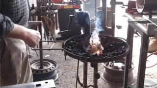 Easy way to Light a Forge