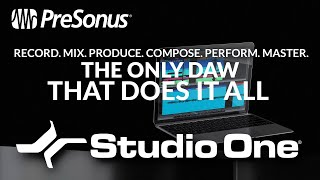Studio One - The ONLY DAW That Does It All