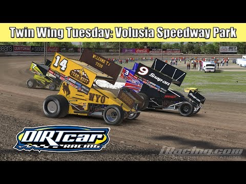iRacing 305 Sprint Cars at Volusia Speedway Park
