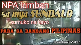 Gambar cover NPA at Sundalo sa BAUKO Mountain Province Recorded live