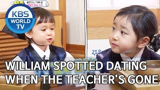 William spotted dating when the teacher's not around [The Return of Superman/2020.03.29]