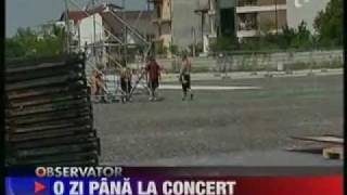Roxette in Romania (News report on Antena 1, 29 May, 2011)