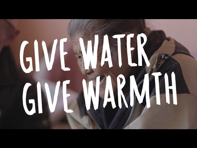 GIVE WATER // GIVE WARMTH