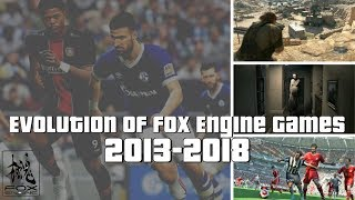 Evolution of Fox Engine Games 2013-2018