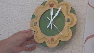 Лайфхак.Как сделать часы самому за 20 минут.