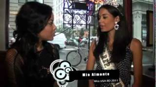Get to know Mio Almonte Miss Republica Dominicana US 2011 | Reportaje by NECIO TV