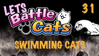Let's Battle Cats! #31: Swimming Cats