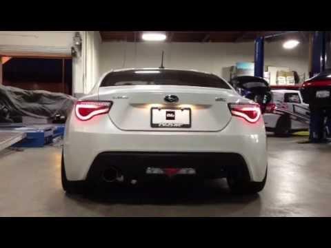 Spyder L.E.D. Tail Lights for Scion FR-S / Subaru BRZ Demo ...