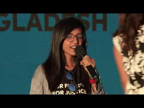 Youth Advocate Shomy Chowdhury   Global Citizen Festival NYC 2017