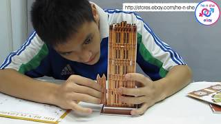 Big Ben London 3D Puzzle-Video demo tutorial now ready!