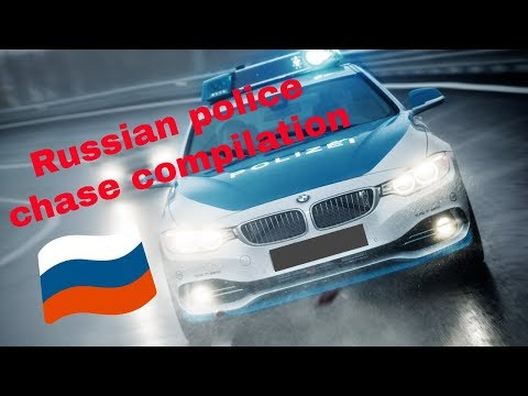 ► Russian & Latvian Police Chase Compilation // 2017 - 2018
