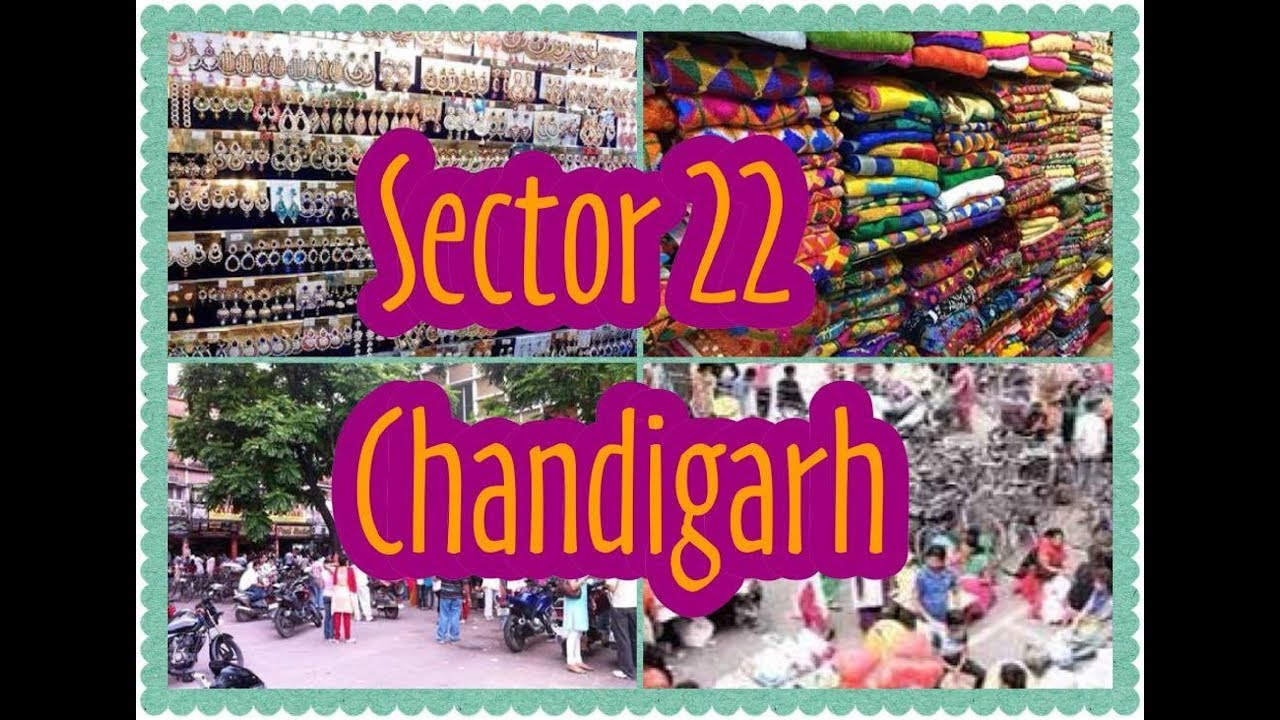 a79087caacf Sector 22 Chandigarh |Shastri Market| Famous Shopping Place at Chandigarh