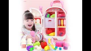 Y 1779 어린이 미니 냉장고 주방놀이 장난감 세트 …