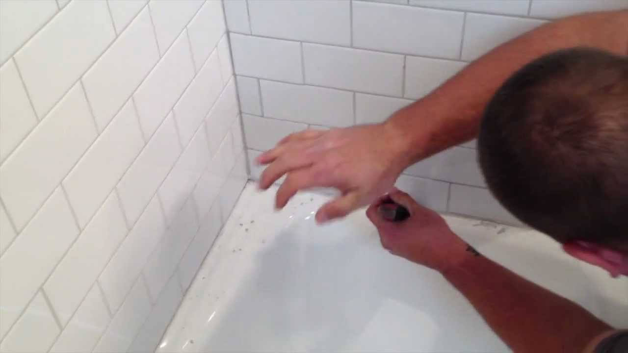 Charmant Quick Tub Grout Repair   YouTube