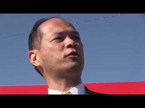 ひわたし啓祐 12.25 武雄市/迫力の演説