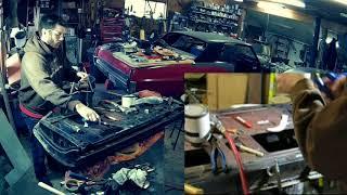 Adam Fixes Stuff: 1964 Pontiac Grand Prix Door Repair Weld Patch and Panel Restoration