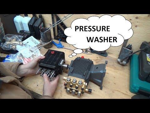 Pressure washer work