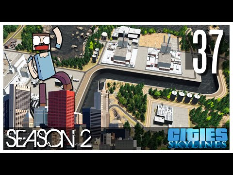 Cities Skylines - S2 Ep.37 : Nuclear Power Plant! (Forsmark)