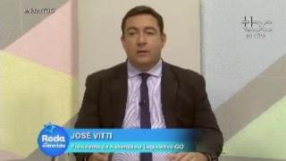 Entrevista: presidente da Assembleia Legislativa de Goiás , José Vitti, na TBC