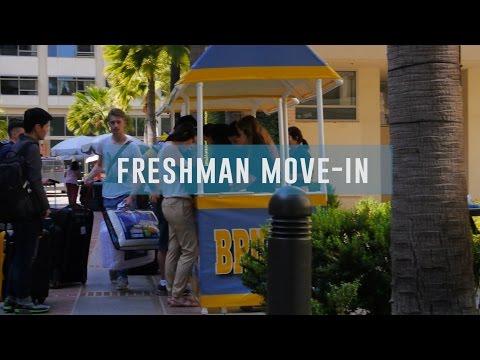 Freshman Move-In Day