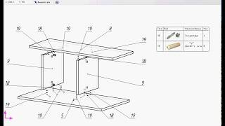 Базис Мебельщик 8. Создание схемы сборки