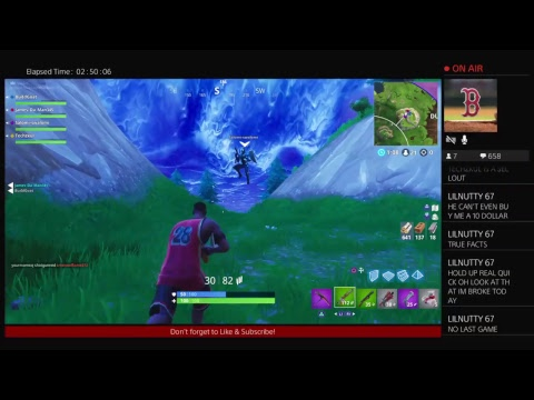 Fortnite Battleroyale: Week 5 Challenges Are LAME! No Sleep Xp (Commentary) (ps4)