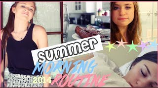 My Summer Morning Routine! | 2014 Thumbnail