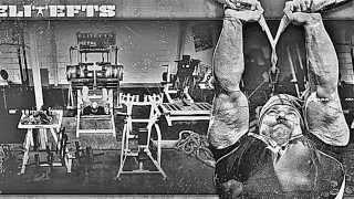 Monster garage gym powerlifting gym strongman gym
