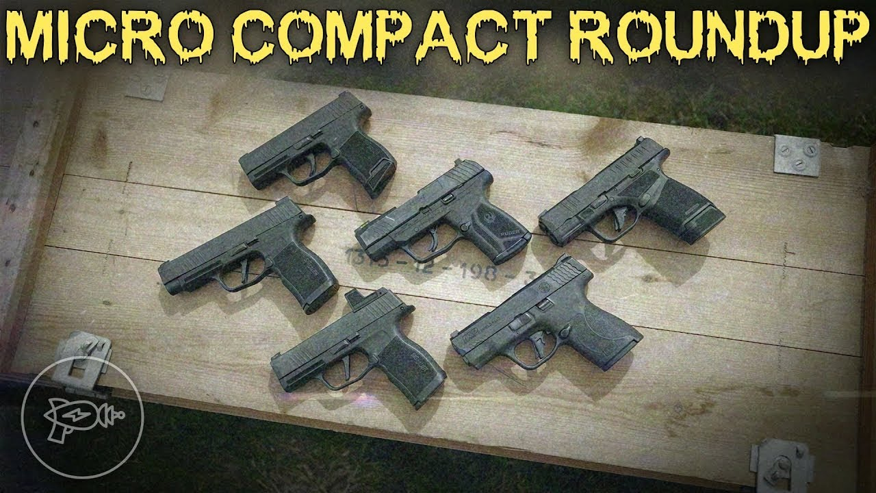Micro Compact Roundup! M&P Shield Plus, Ruger Max 9, Springfield Hellcat, Sig P365 X & XL [Review]