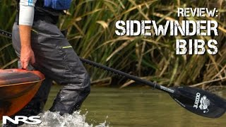 review nrs sidewinder bibs kayak fishing waders