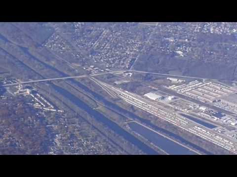 Chicago (ORD)-to-Fort Lauderdale (FLL) Flight: Takeoff 22L, Select IL Towns & Landing 9L 2013-11-09