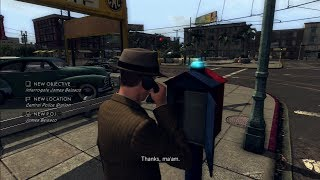 L.A. Noire (PS3 720p) Traffic Desk Case DLC #2: A Slip Of The Tongue