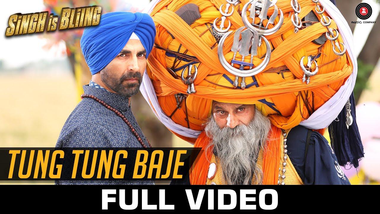 Download Tung Tung Baje - Full Video | Singh Is Bliing | Akshay Kumar & Amy Jackson | Sneha Khanwalkar