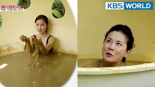 """Baixar Highlight of Hot Springs: Single Mud Spring! """"I don't want to leave~"""" [Battle Trip/2017.01.28]"""