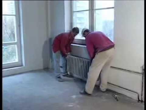 видео: Установка радиатора отопления своими руками   Энциклопедия  Мир ремонта
