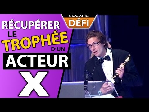 Gonzague récupère le trophée d un acteur porno (hot d or) from YouTube · Duration:  3 minutes 15 seconds