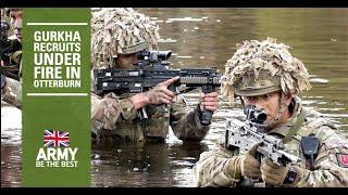 Gurkha Training Company | Live Fire Training - Otterburn | British Army