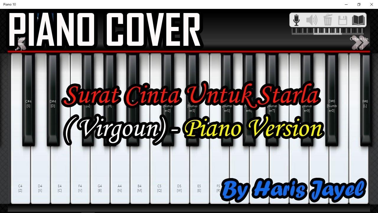 Surat Cinta Untuk Starla Virgoun Cover Piano Version