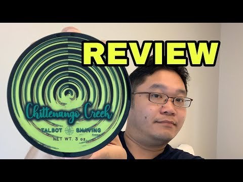 Review: Talbot Shaving Chittenango Creek