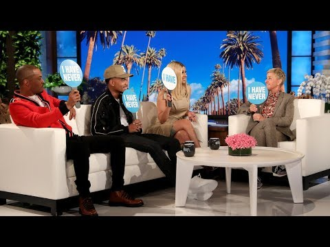 Uptown Angela - Cardi, T.I.P. & Chance Play Hilarious Game with Ellen!!!