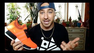 Adidas Size? Exclusive 'Orange Noise' PK NMD Review & On Feet!